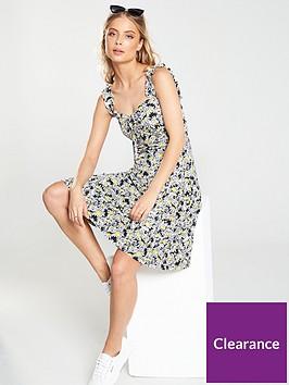 v-by-very-ruffle-strap-mini-dress
