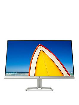 "HP Hp 24F Full Hd Ultraslim Monitor, 23.8"", Ips - Silver Picture"