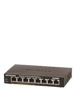 netgear-8pt-unmanaged-poe-switch