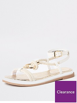 river-island-river-island-rope-ring-flat-sandals-white