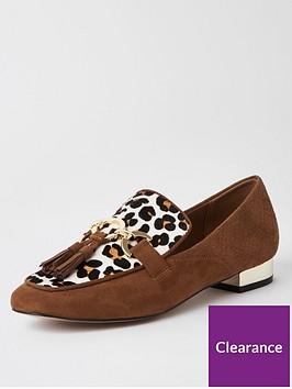 river-island-river-island-leather-animal-print-loafer-tan