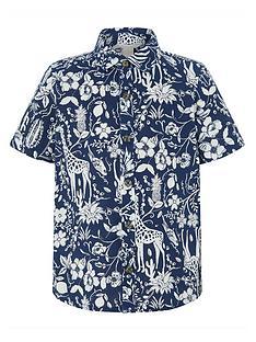 monsoon-boys-lucia-print-linen-blend-short-sleeve-shirt-navy