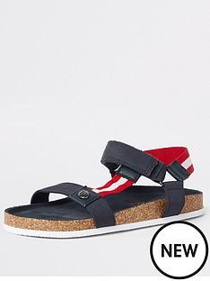 river-island-boys-corkbed-sandals-navy