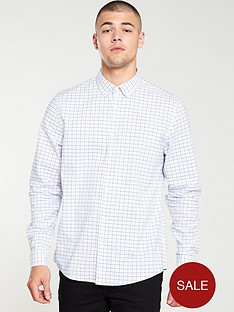 v-by-very-long-sleeved-check-shirt-whitecheck