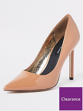 river-island-patent-court-shoe-nude