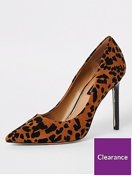 river-island-river-island-animal-printed-court-shoe--brown
