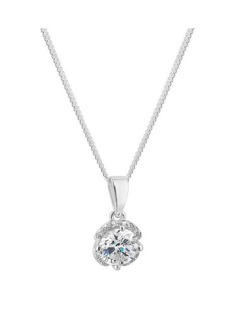 simply-silver-cubic-zirconia-solitaire-flower-pendant-in-gift-box