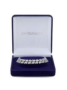 jon-richard-jon-richard-silver-plated-cubic-zirconia-duchess-baguette-statement-bracelet