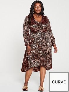 v-by-very-curve-satin-button-through-midi-dress--nbspanimal