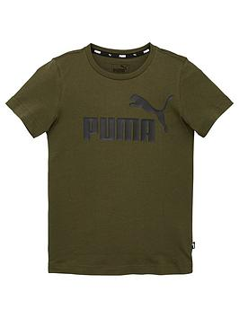 puma-essentials-logo-t-shirt-khaki