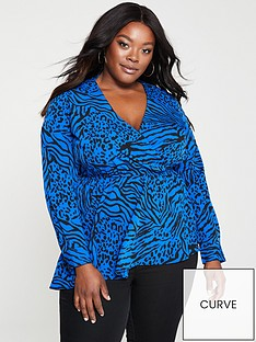 v-by-very-curve-asymmetric-hem-wrap-blouse-animal-print