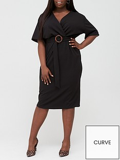 v-by-very-curve-jersey-wrap-pencil-dress-black