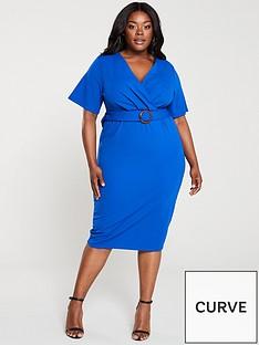 v-by-very-curve-jersey-wrap-pencil-dress-blue