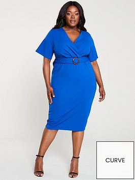 v-by-very-curve-jersey-wrap-pencil-dress-blue