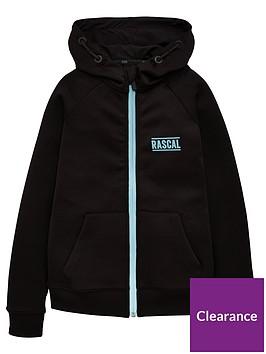rascal-irsadoazul-zip-thru-hoodienbsp--black