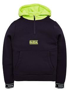 rascal-palma-half-zipnbsphoodie-navyneon