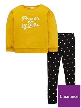 v-by-very-girls-lsquopower-to-girlsrsquo-slogan-sweatshirt-and-ribbed-legging-set-ochre