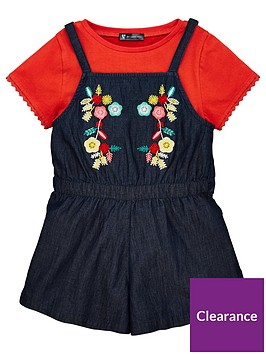 v-by-very-girls-embroidered-playsuit-and-tee-set-multi