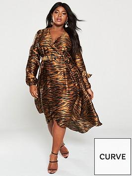 v-by-very-curve-satin-wrap-midi-dress-animal