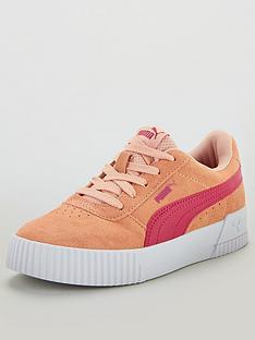 puma-carina-childrens-trainers-pink