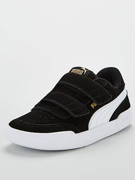 puma-infant-caracal-sd-v-trainers-blackwhitegoldbr-nbsp