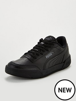 puma-caracal-junior-trainers-blackgrey