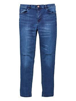 v-by-very-boys-skinny-slashed-knee-jeans-dark-blue
