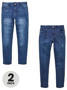 v-by-very-boys-2-pack-skinny-jeans-blue