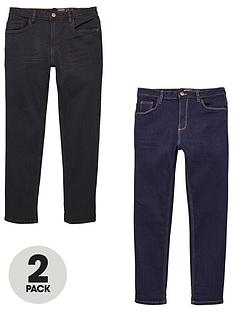 v-by-very-boys-2-pack-regular-jeans-blueblack
