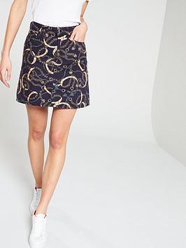 river-island-chain-print-skirt--chain-print