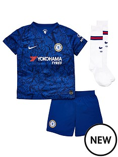 e655b50a4 Nike Chelsea 19 20 Home Little Kids Kit