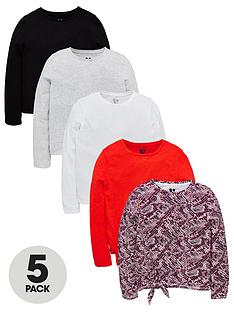 v-by-very-girls-5-pack-long-sleeve-tops-multi
