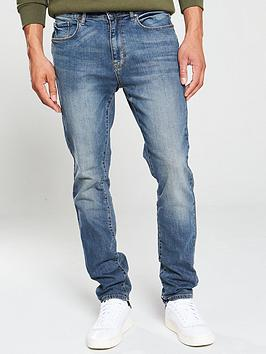 V by Very V By Very Slim Fit Jeans - Light Vintage Wash Picture