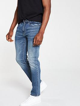 V by Very V By Very Slim Fit Blue Wash Jeans - Blue Picture