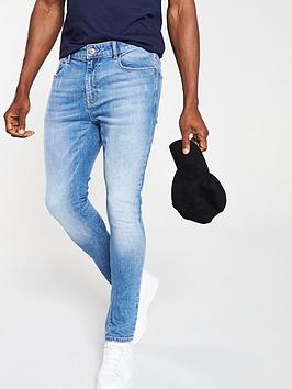V by Very V By Very Vintage Skinny Jeans - Light Wash Picture