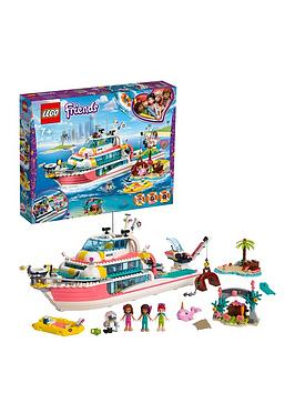 LEGO Friends Lego Friends 41381 Rescue Mission Boat Toy With Mini Dolls Picture