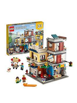 LEGO Creator Lego Creator 31097 3In1 Townhouse Pet Shop &Amp; CafÉ Picture