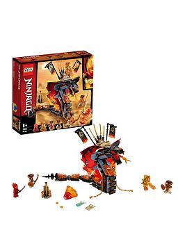 LEGO Ninjago Lego Ninjago 70674 Fire Fang Snake Toy For Kids Picture