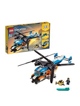 LEGO Creator Lego Creator 31096 3In1 Twin Rotor Helicopter Toy Picture
