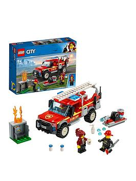 LEGO City  Lego City 60231 Fire Chief Response Truck With Water Cannon