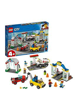 LEGO City  Lego City 60232 Garage Center With 3 Cars And 4 Minifigures
