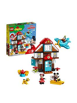 LEGO DUPLO Lego Duplo 10889 Disney Mickey&Rsquo;S Vacation House Toy Picture