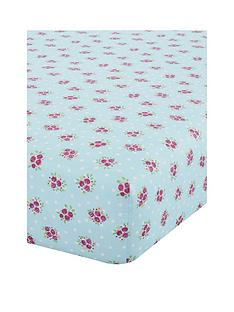 catherine-lansfield-nbspfairies-junior-fitted-sheet