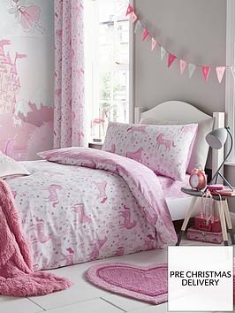 catherine-lansfield-nbspfolk-unicorn-junior-duvet-cover-set