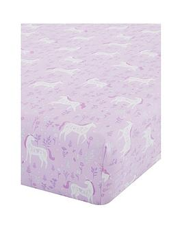 catherine-lansfield-folk-unicorn-fitted-sheet-toddler
