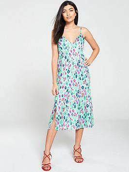 v-by-very-jacquard-caminbspmidi-dress-print
