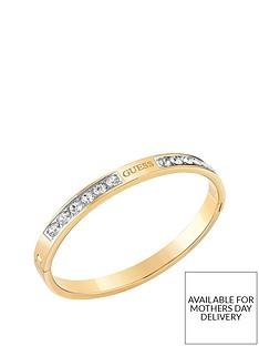 guess-guess-love-knot-gold-crystal-set-logo-bangle