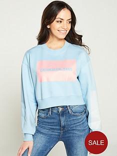 calvin-klein-jeans-oversized-cropped-logo-sweatshirt-light-blue