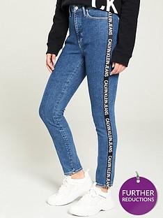 calvin-klein-jeans-010-high-risenbsptaped-jeans-mid-wash