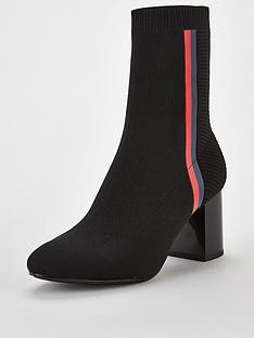 tommy-hilfiger-knitted-heeled-boot